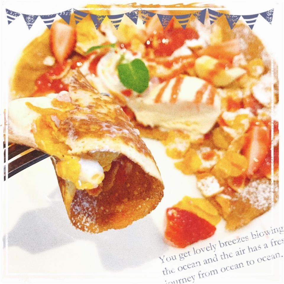 …ஐ 【ファミレス】苺が食べたい!限定!!頬がおちる春デザートを楽しむには、デニーズへGO!! ஐ¨_2