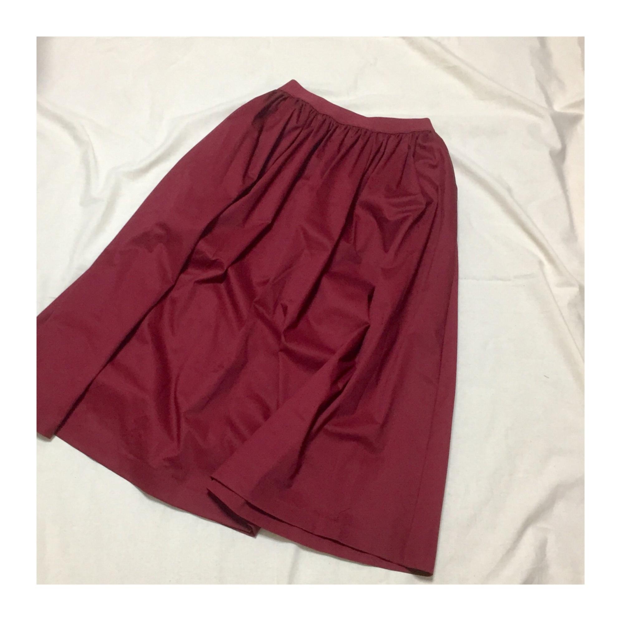 【この夏→秋もUNIQLOが熱い】シンプルなのに可愛い☆ボリュームスカート_1