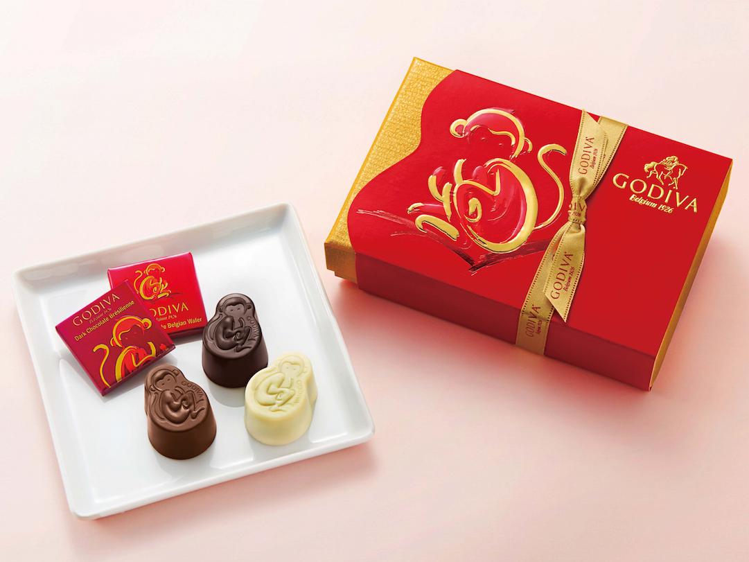 来年の干支・さるが『ゴディバ』のチョコレートになっちゃった!_1