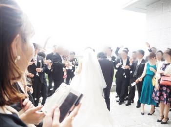 【パレスホテル東京】MOREインフルエンサーNo.600 asuちゃんの素敵な結婚式❤︎