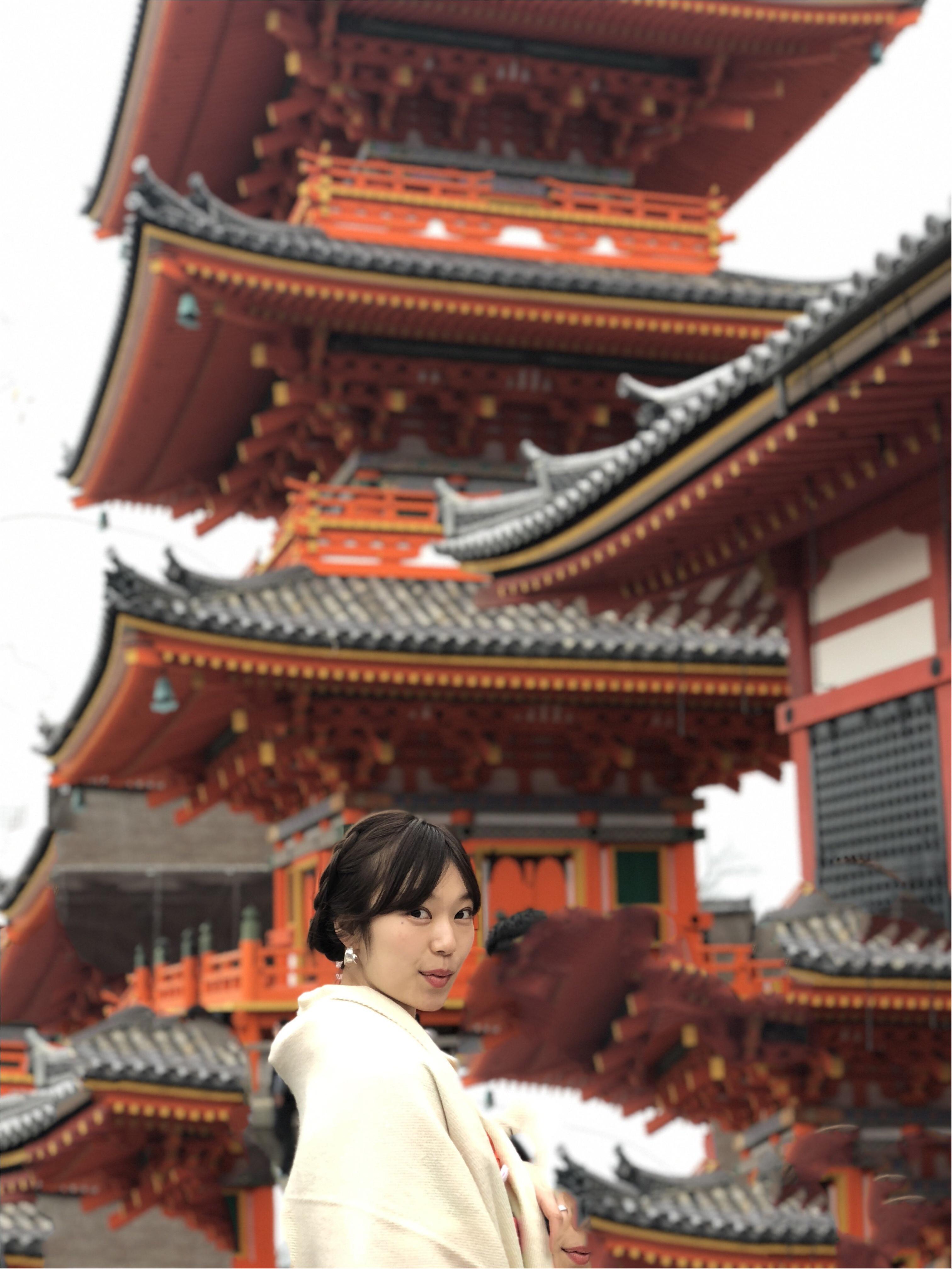 京都に行ったら〈着物〉が着たい!ということで、着物で向かった先は、、??_2
