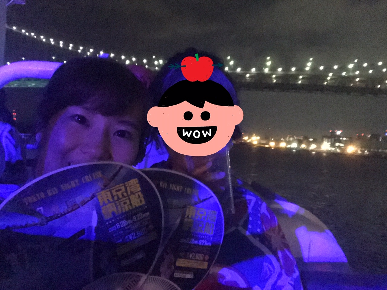 【東京湾納涼船】浴衣とビールと夜景クルーズ!_10