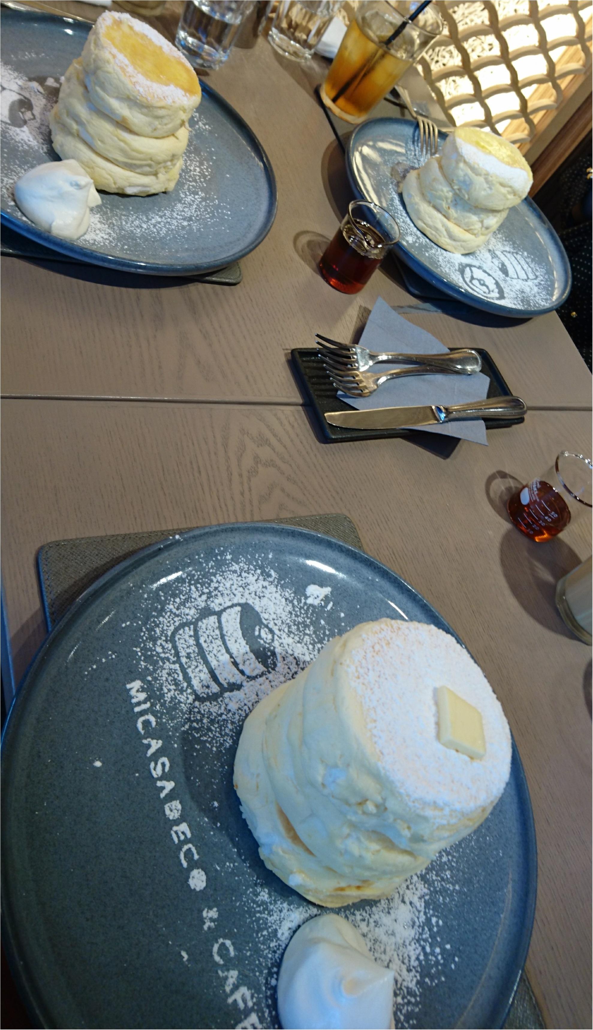 並んででも食べたいふわっふわパンケーキ♡神宮にあるミカサデコ&カフェのリコッタチーズパンケーキ\(^^)/_3