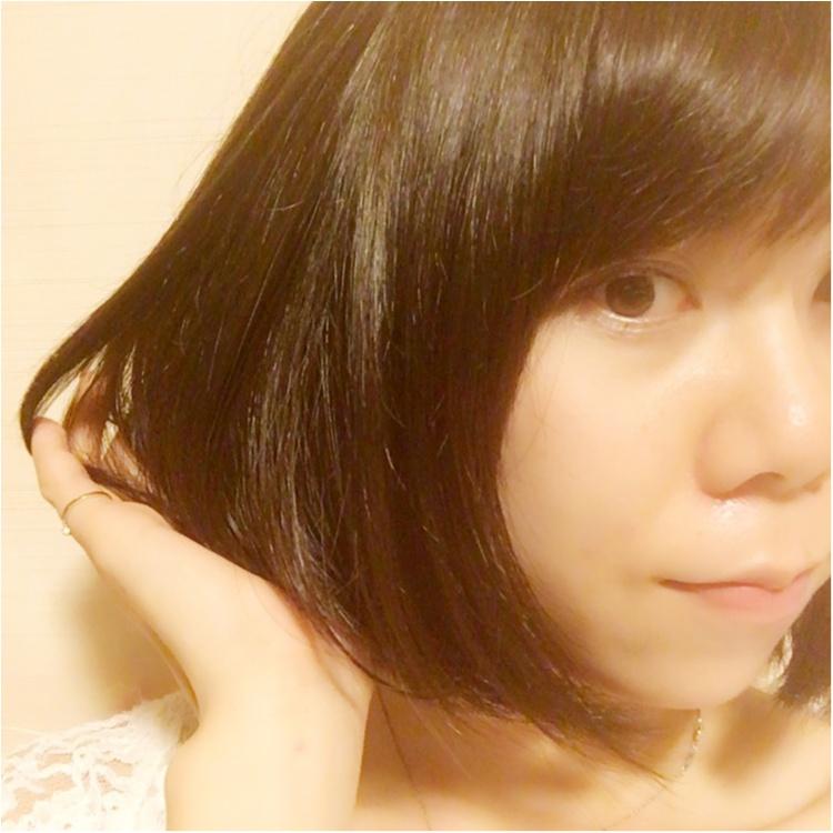 【New hair color】エメラルドグリーンのニューヘアカラー★_1