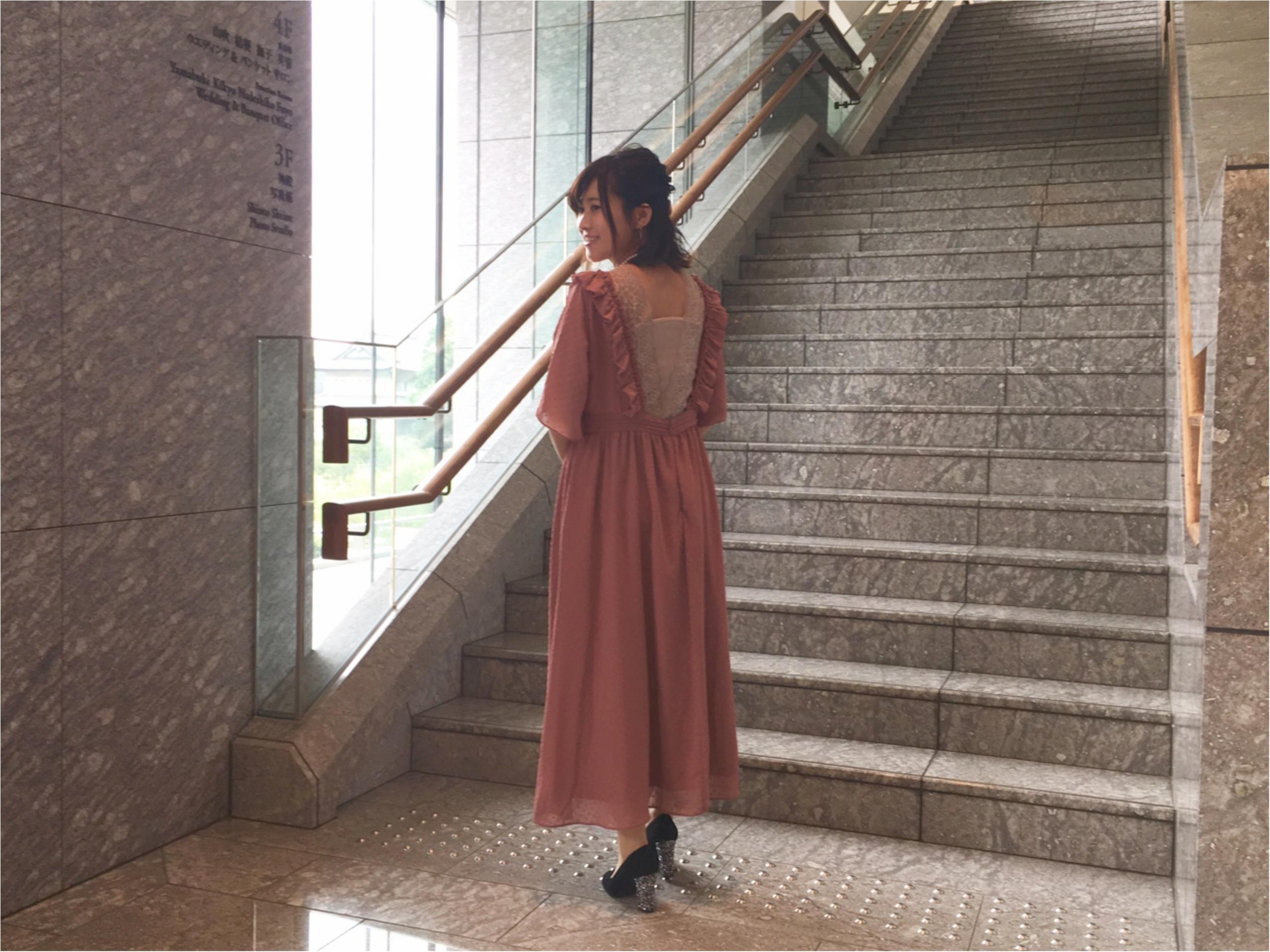 """集英社MOREインフルエンサー7名の""""お呼ばれドレス""""SNAP❤︎_7"""
