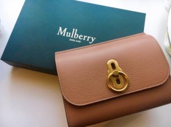 【お財布】新しいお財布は憧れのキャサリン妃とお揃いに♡《Mulberry》のAmberley
