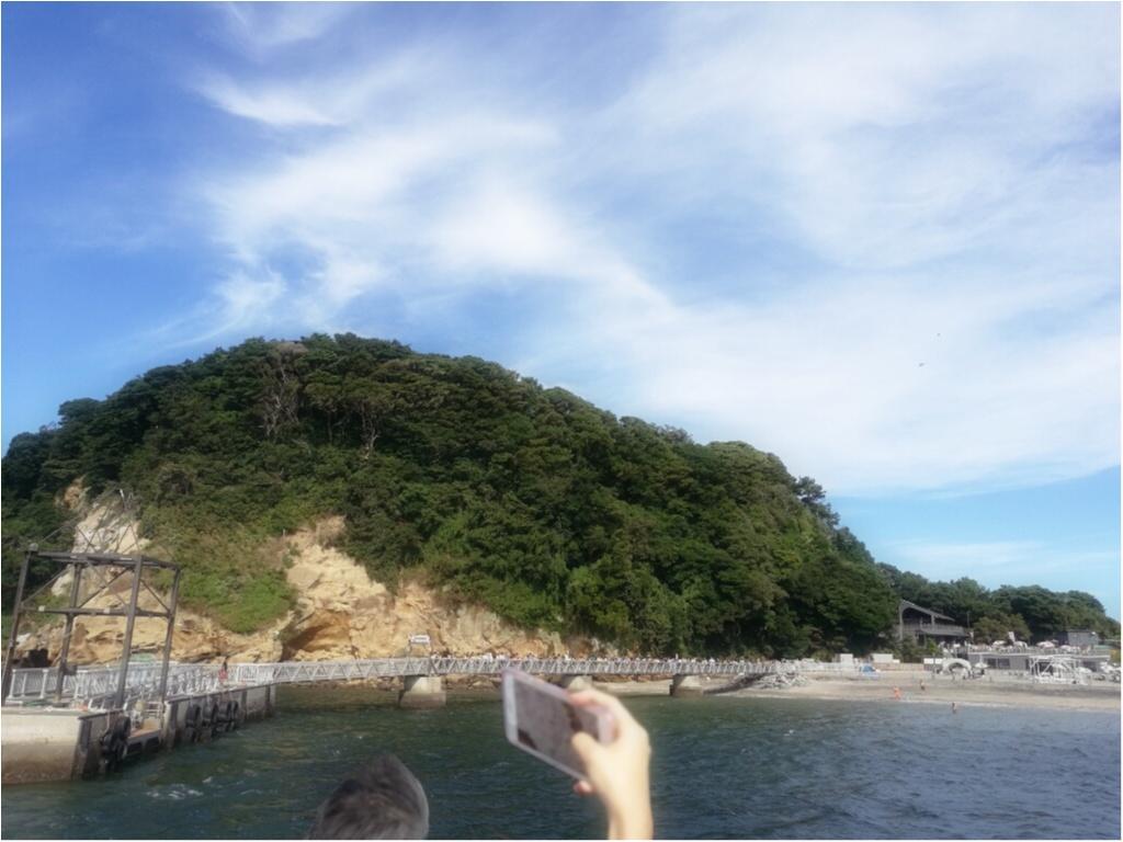 神奈川 天空の城ラピュタの舞台 猿島 モアハピ部ブログ Daily More
