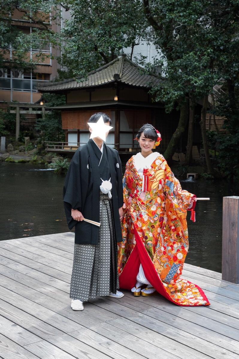 【本格和婚①】【神前式】徳川家ゆかりの神社で式を挙げました*。_2