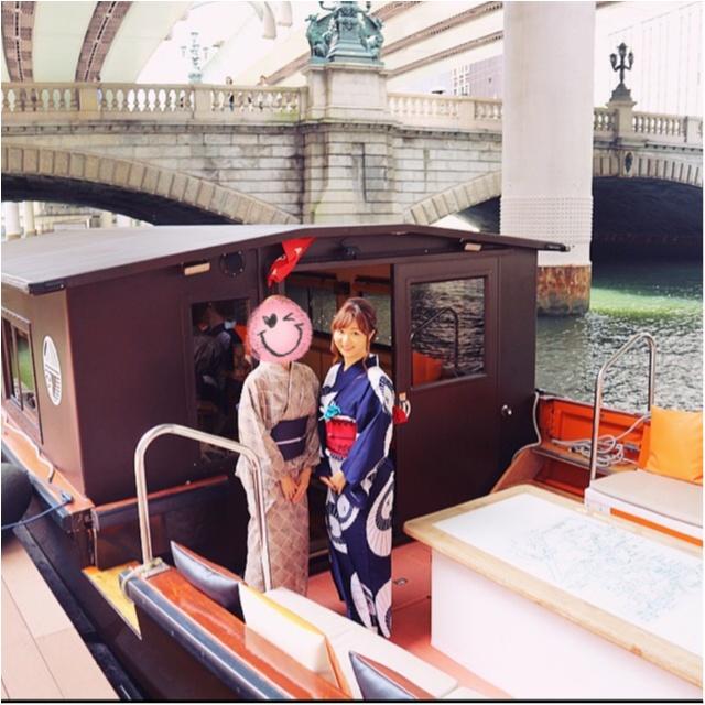 浴衣で舟遊び♡いまホットな東京のランドマークをめぐる日本橋クルーズ☻_1
