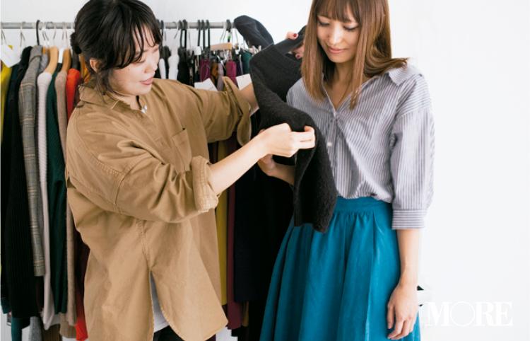 【読者変身】無難、甘すぎ、いつも同じ……きれい色スカートのお悩み、スタイリスト高野さんが解決します☆_3_4