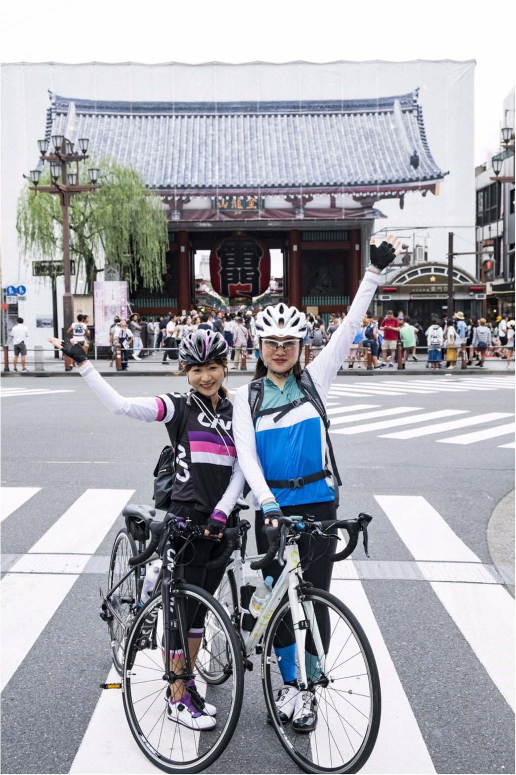 自転車で東京下町めぐり♡築地〜浅草〜東京スカイツリーまで!穴場グルメ&フォトスポットをご紹介♪ #ツール・ド・東北【#モアチャレ さえ】_3