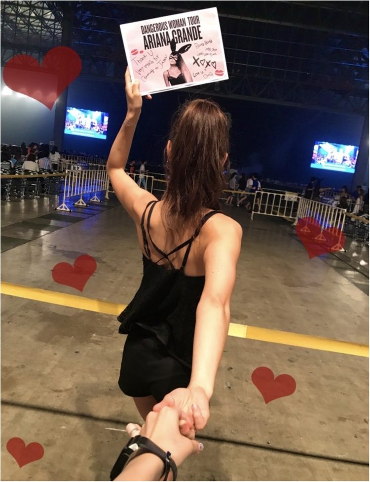 【❤︎❤︎❤︎】アリアナグランデ #dangerouswomantour に行ってきたああああ!!_3