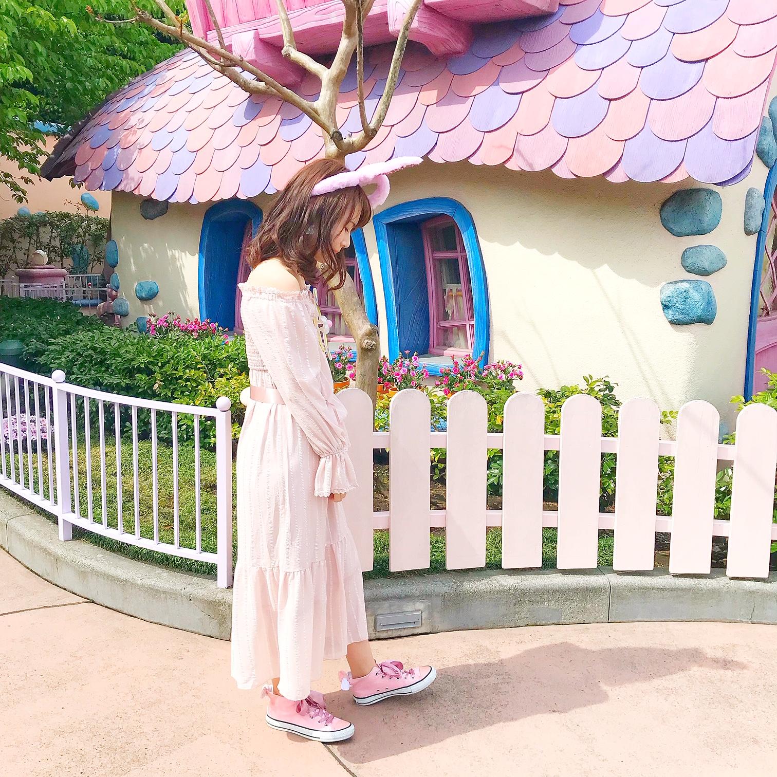 【れいかのヒロインコーデvol.1】今年のディズニーイースターなら断然ピンクコーデ♡_1