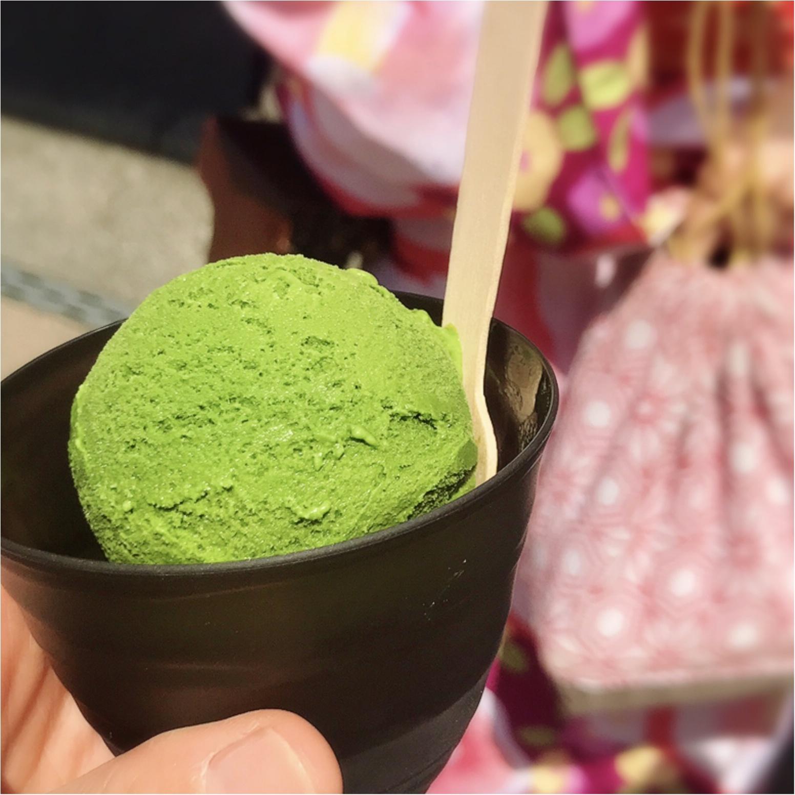【鎌倉グルメ】濃さが選べる抹茶アイス! 小町通り散策に疲れたら「鎌倉茶々」へ♡_3