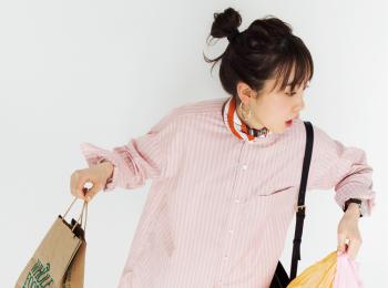 映える!着回せる!ピンクと白のストライプシャツを、「令和」最初のお買い物にご指名♡