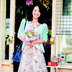 【今日のコーデ】春ワンピ主役の華やかコーデで恋が始まる予感♡
