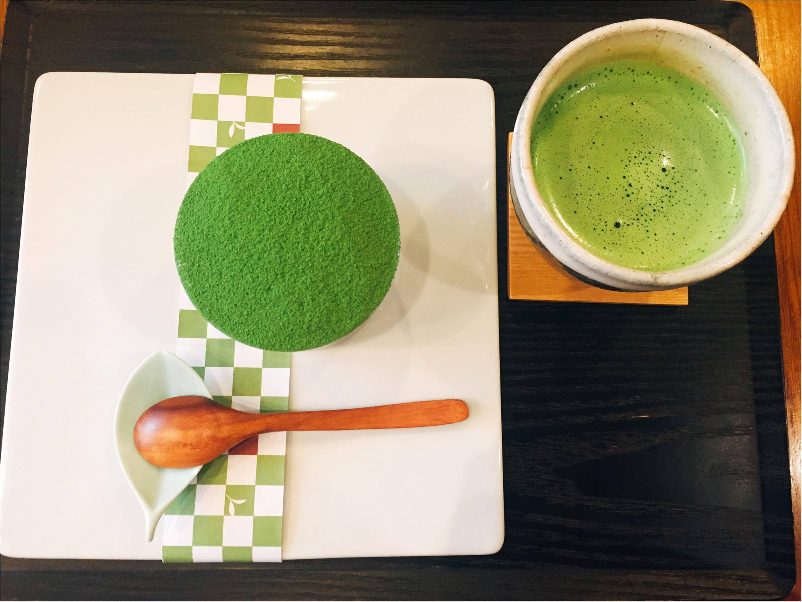 【表参道】日本茶が楽しめるカフェ♡期間限定《苺いり抹茶ティラミス》を食べに行きました♩_8_3
