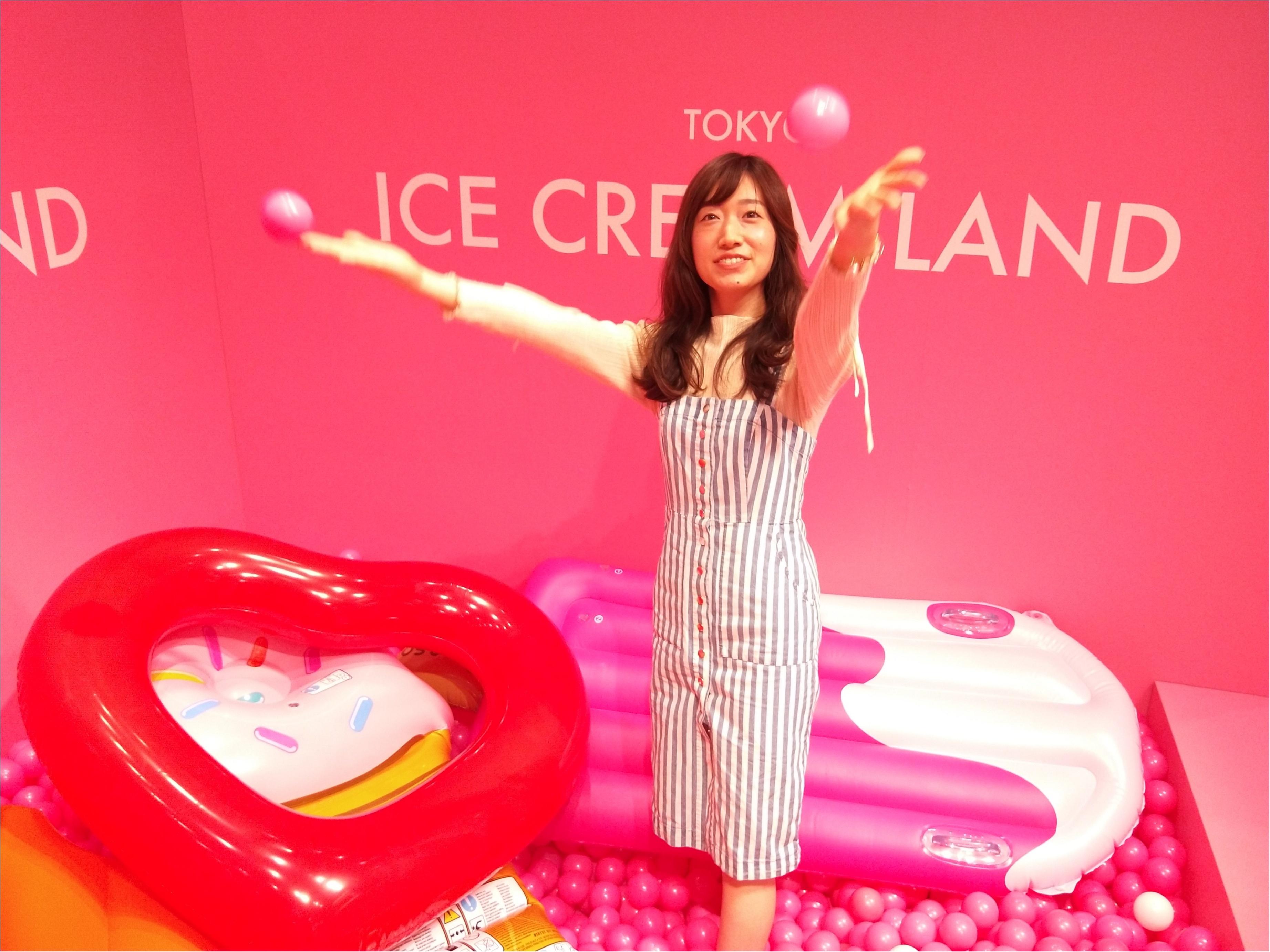 アイスクリームの夢の国「ICE CREAM LAND」でフォトジェニック空間を満喫♡横浜コレットマーレ5/27まで!_6_3