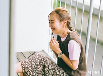 「モテ期もツライわ……♡ これって恋なの!?」内田理央主演・毎日連載『ミスブラウンの愛され着回し』16日目