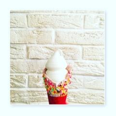 【SNS映えまちがいなし♡!!】コールドストーンの新商品のソフトクリームが可愛い♡【コールドストーンエクスプレス】