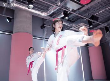 武道フィットネスにチャレンジ! ピンクの空間、道着も可愛くてアガる♡【佐藤栞里のちょっと行ってみ!?】