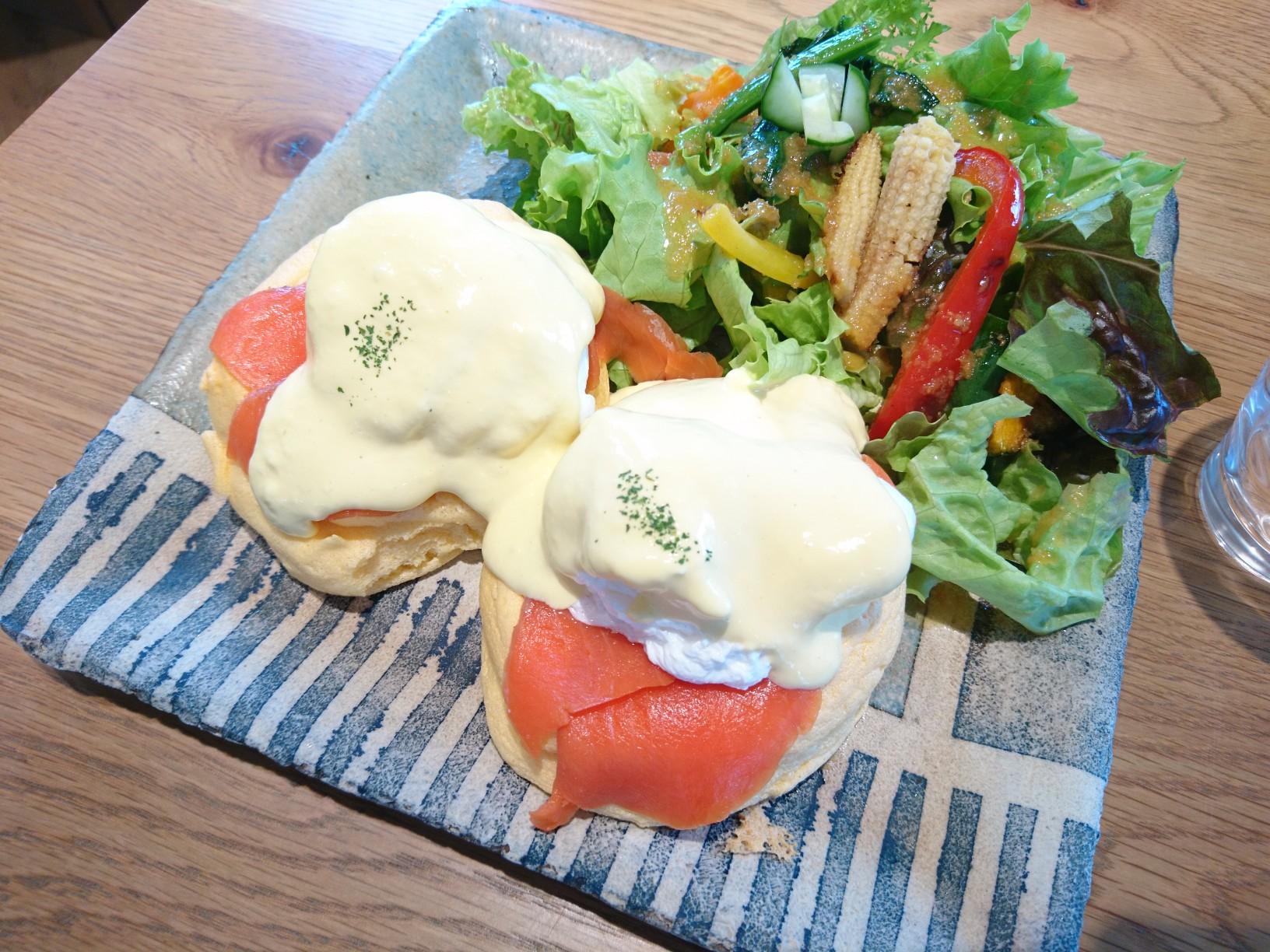 ≪兵庫県・西宮≫ランチもスイーツも美味♡ ふわふわスフレパンケーキのカフェ_2