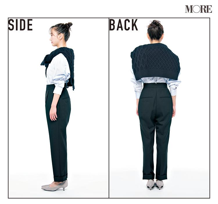 """普通の黒パンツとは違う! """"美脚""""の黒、なら『シンゾーン』と『ジーナシス』。この2本のパンツがよき♡_3"""