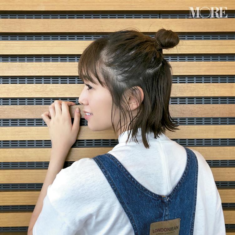 佐藤栞里は、伸びた髪でヘアアレンジすること♡ 【モデルのオフショット:最近のマイブーム編】