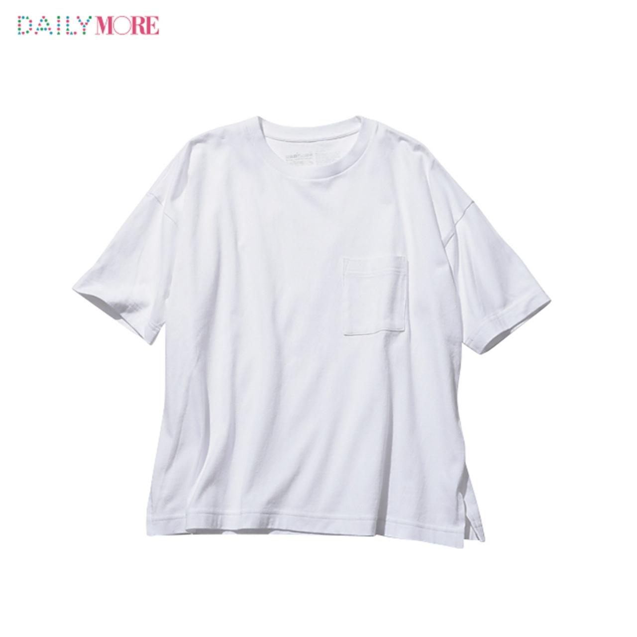 シルエットも素材もこだわりまくりの4タイプ!!【無印良品】の白Tシャツのここがスゴイ!_2_2