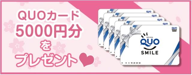 【応募終了】デイリーに役立つプリペイドカード「QUOカード 5000円分」を5名様にプレゼント!_2