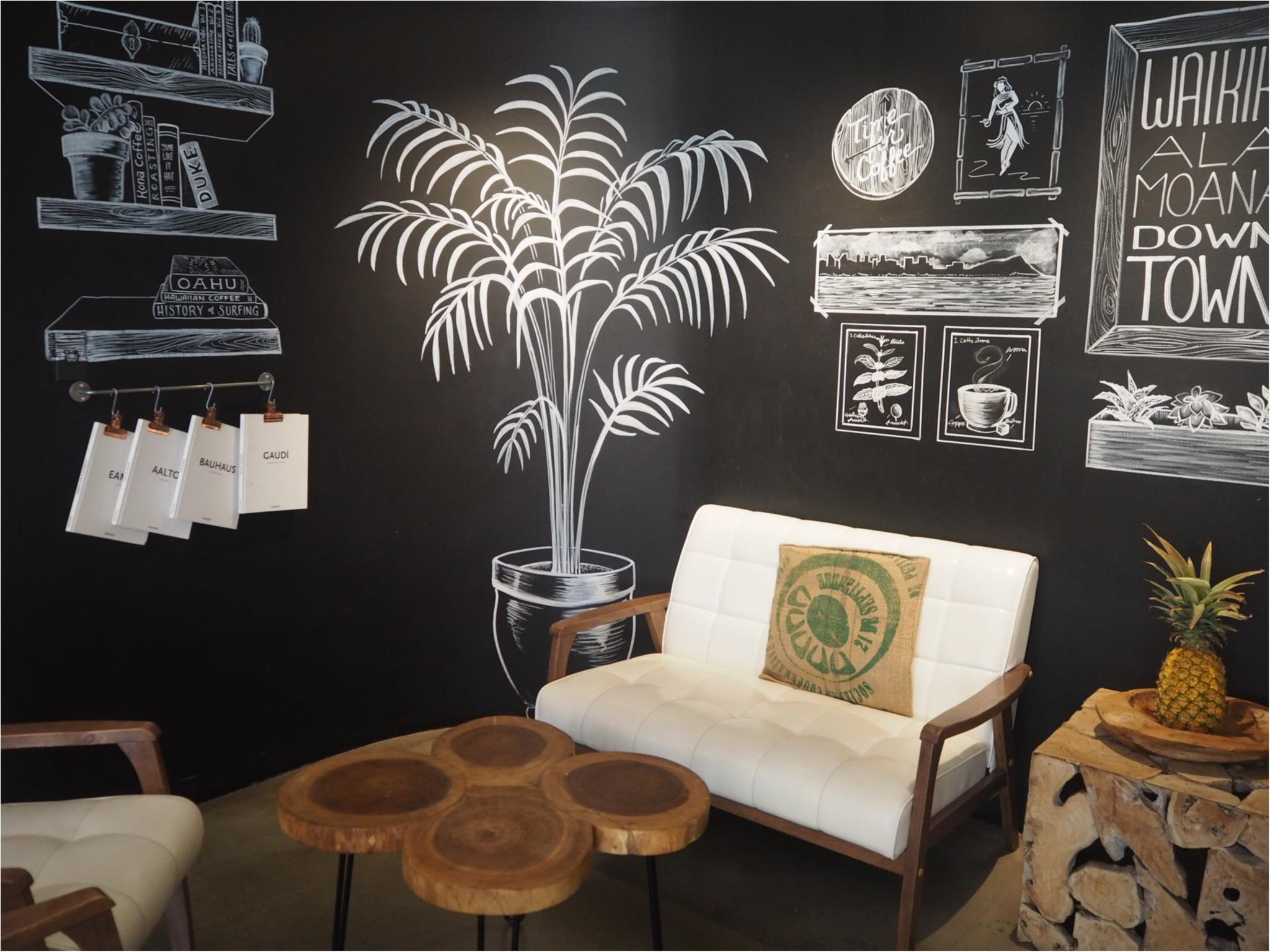 《今、ワイキキで一番オシャレでフォトジェニックなカフェ!》ハワイアン・アロマカフェでまったりブランチ♡♡(&旅行で役に立つプチ英語教室)_4