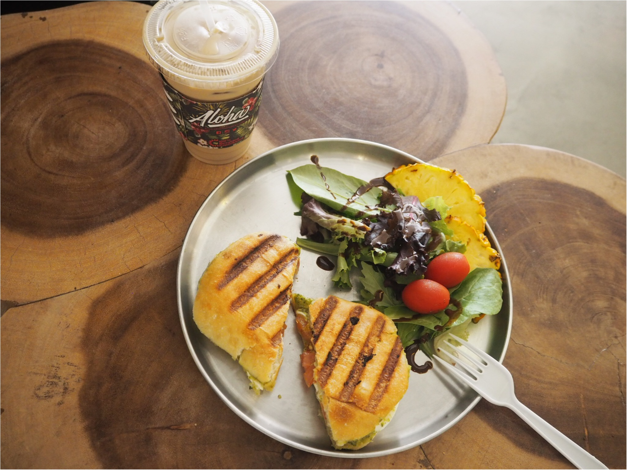 《今、ワイキキで一番オシャレでフォトジェニックなカフェ!》ハワイアン・アロマカフェでまったりブランチ♡♡(&旅行で役に立つプチ英語教室)_6