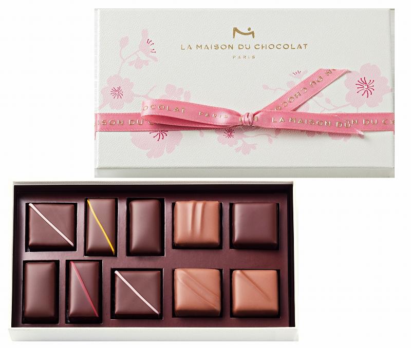 まだまだ桜の季節は終わらない♡ 『ラ・メゾン・デュ・ショコラ』の桜エクレールは4/30(月)まで!_1_1