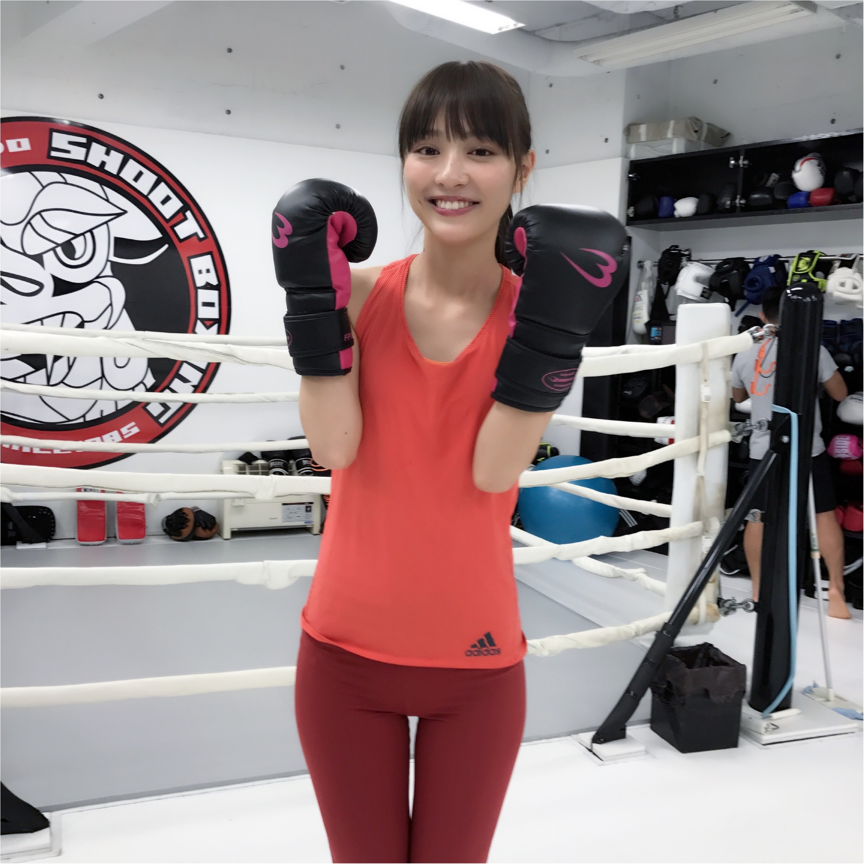 だーりおのキックが、ますます進化中!? 『シーザージム渋谷』に通い始めたよ! 【#モアチャレ 内田理央の「キックボクシング」チャレンジ!】_6