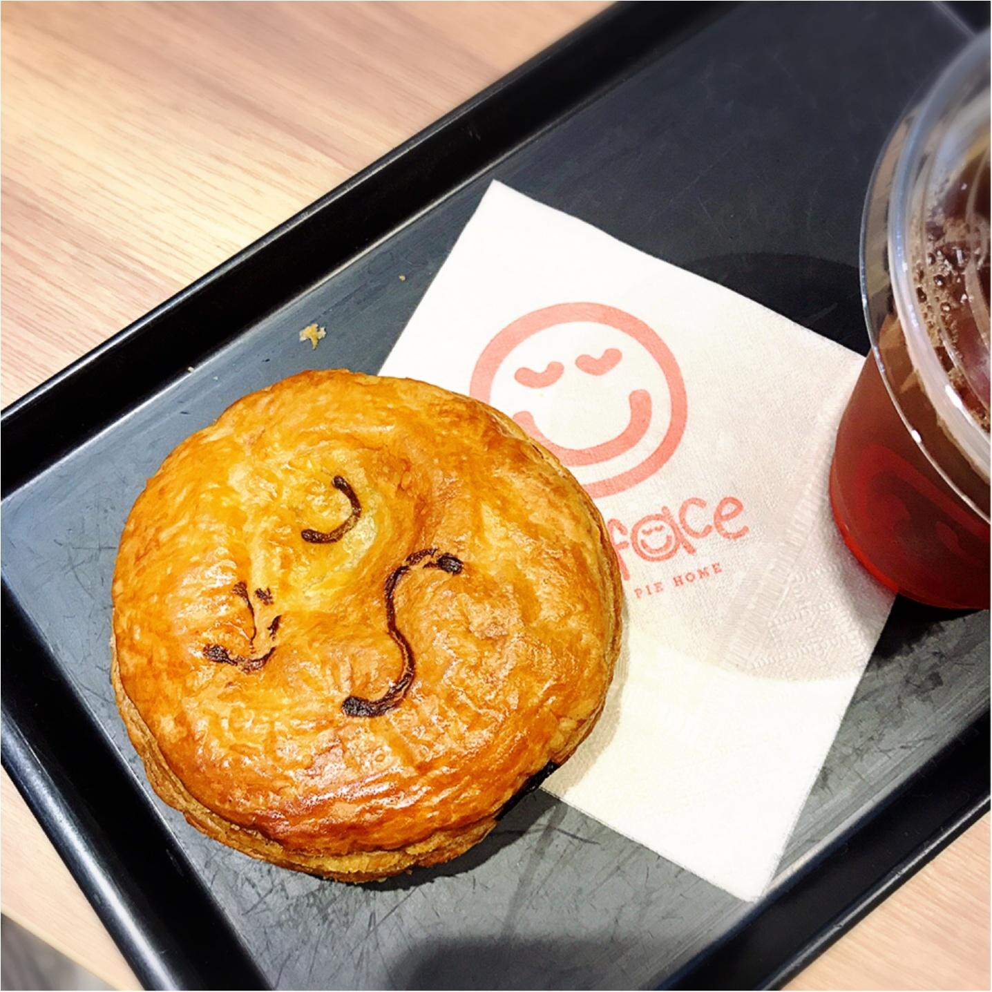 ★食べるのがもったいない⁉︎『Pie face』のにっこりパイが美味しくて可愛すぎる★_3