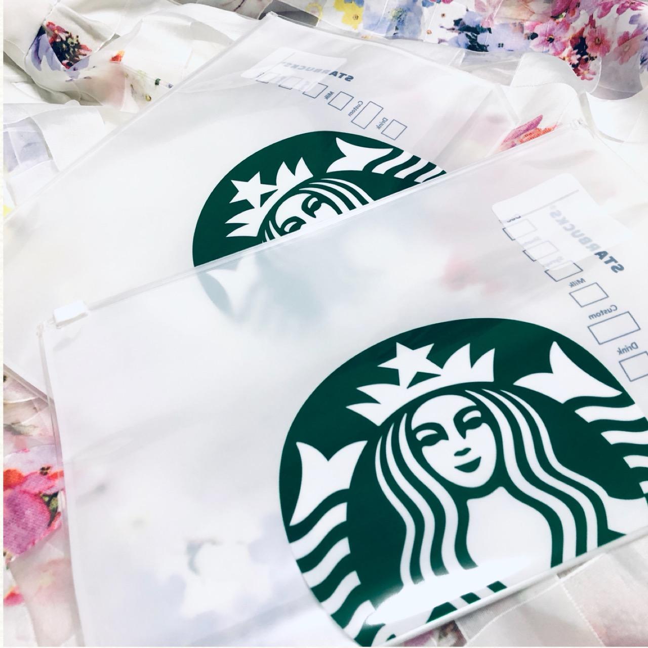 <スタバ>売り切れ前にゲットせよ!オシャレで大人気のコーヒーフィルタージッパーバッグ♡_1