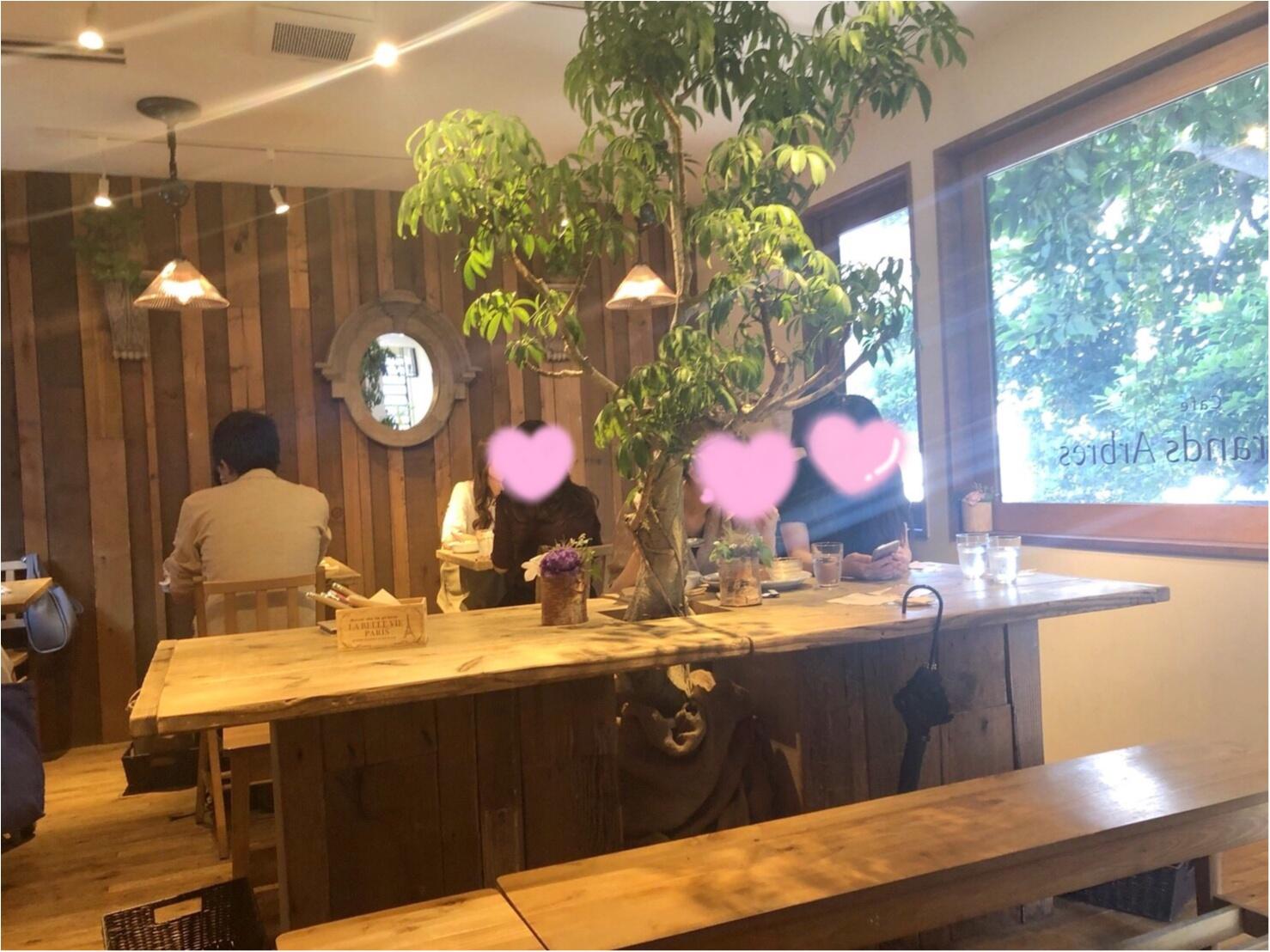 【東京】広尾にこんなお洒落なお店が?!緑溢れるツリーハウスカフェ♡_2