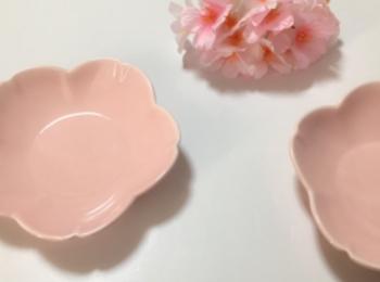 【ダイソー】桜グッズが可愛い♡食器を購入しました!