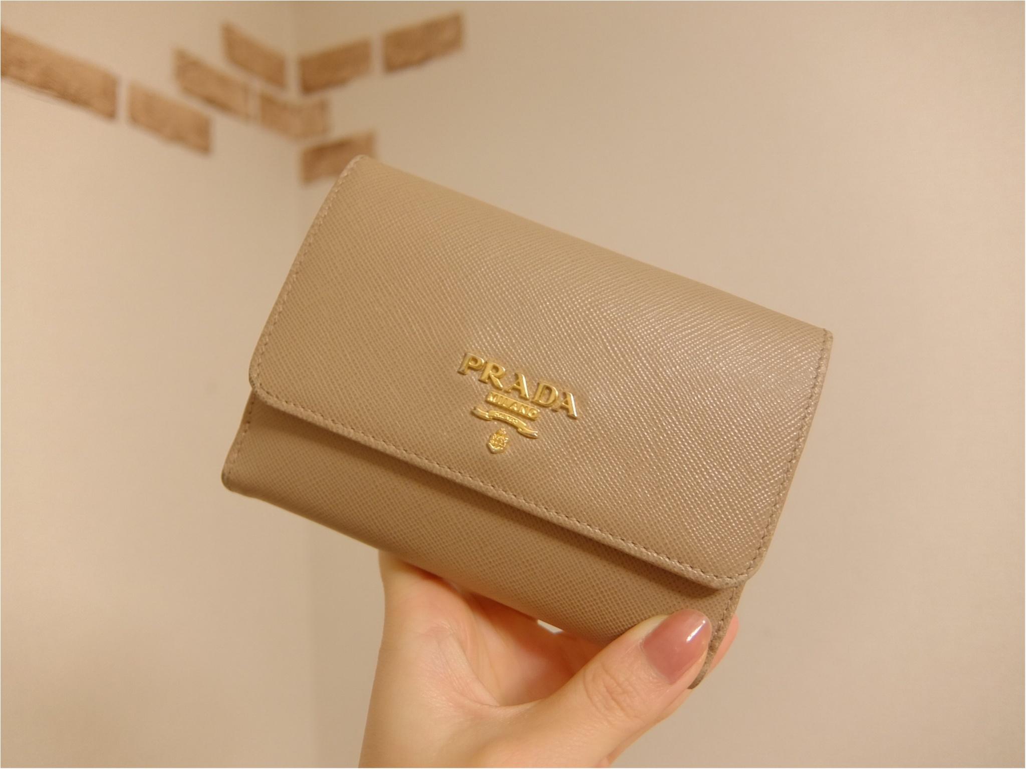 hot sale online 02743 0e6a9 愛用財布は【PRADA】♡二つ折り派さん必見の≪カード収納術≫も ...