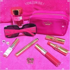 【Beauty】毎日の小物はピンクで統一気分Up♡だいすきkate spade のparty情報も♡