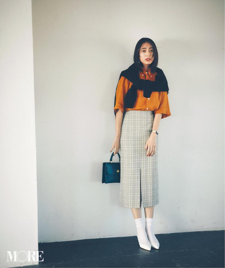 春のシャツコーデ特集《2019年版》- 20代女子におすすめ!オフィスカジュアルにちょうどいい きれいめシャツのコーディネートまとめ_22