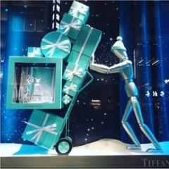 【銀ぶら】ティファニーブルーに惚れぼれ♡銀座のショーウィンドウでクリスマス気分を満喫♡♡