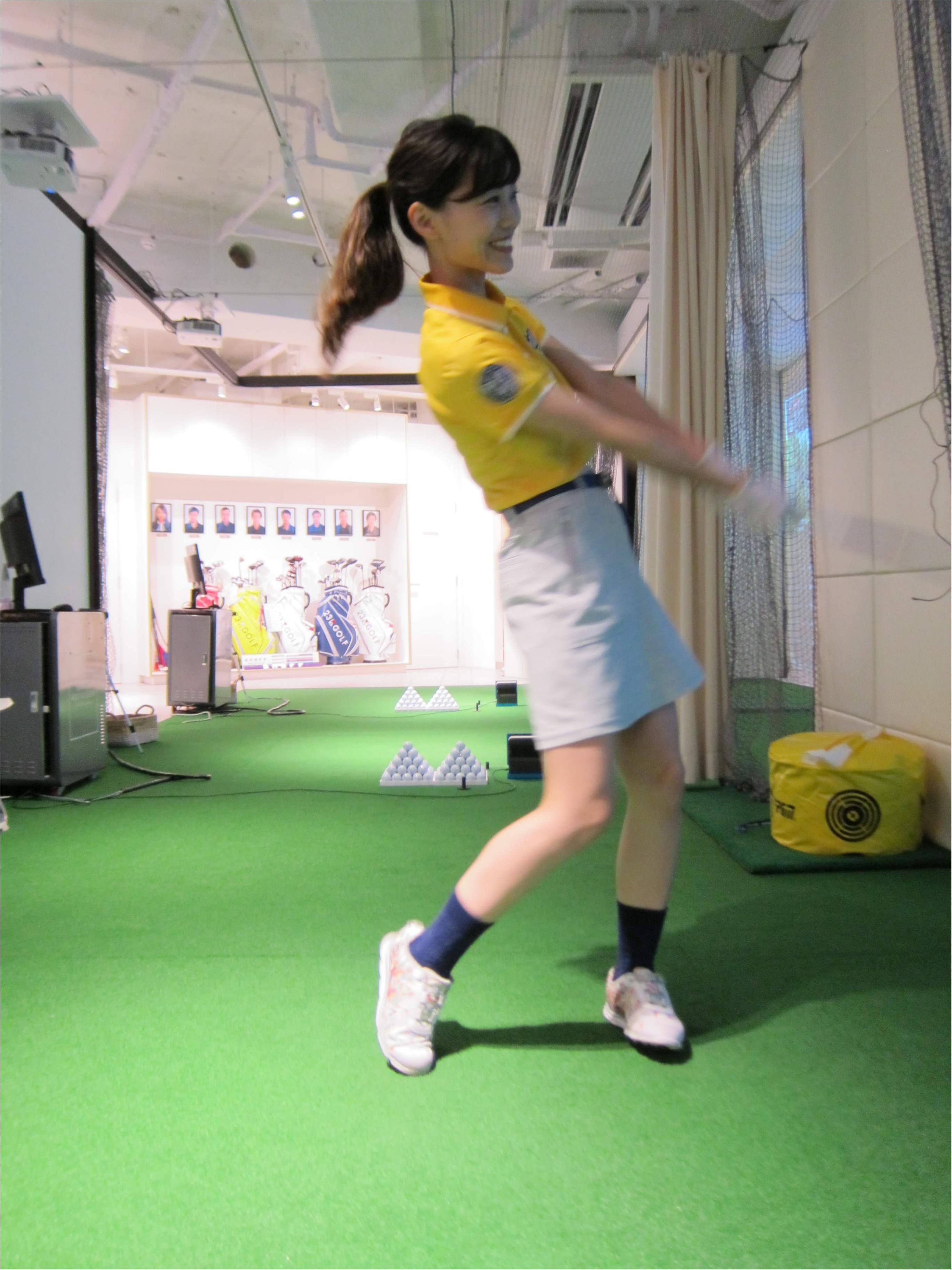 【ゴルフレッスン*onward golf academy@二子玉川】改めてレッスンに行っています!_5