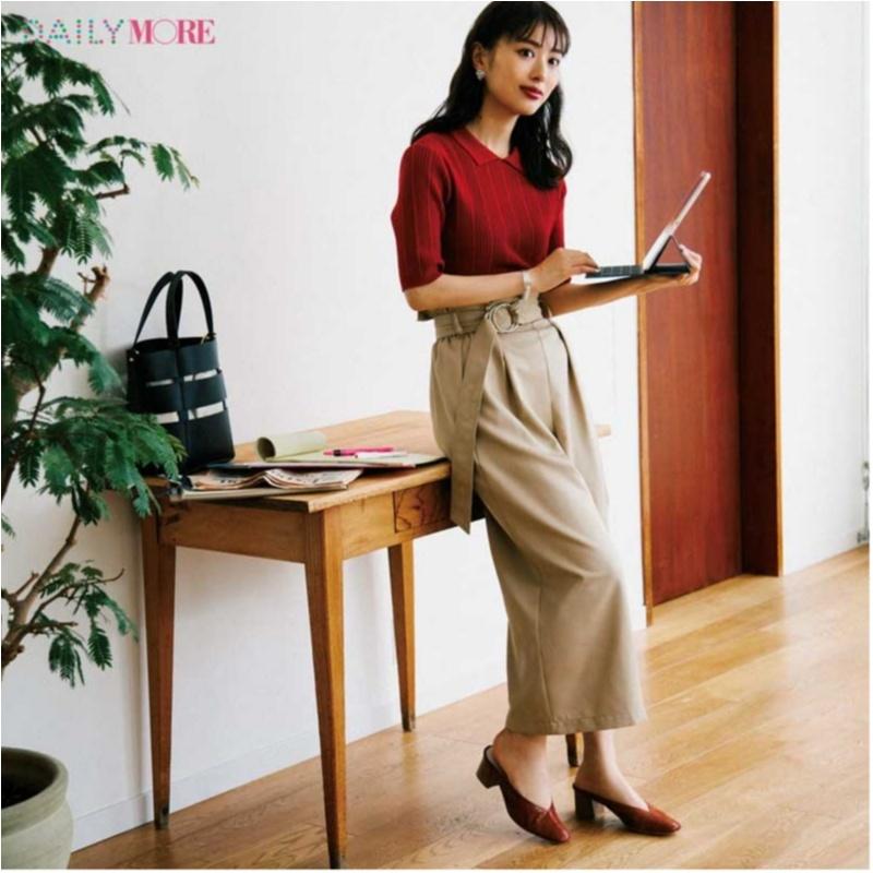 甘い服をほどよく大人にしてくれる「ポロシャツ」コーデまとめ♡_3