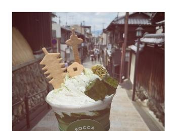 #5【#cafestagram】❤️:《京都》に行ったら絶対飲みたい!ROCCA&FRIENDS TRUCKの抹茶ラテがかわいすぎる◡̈