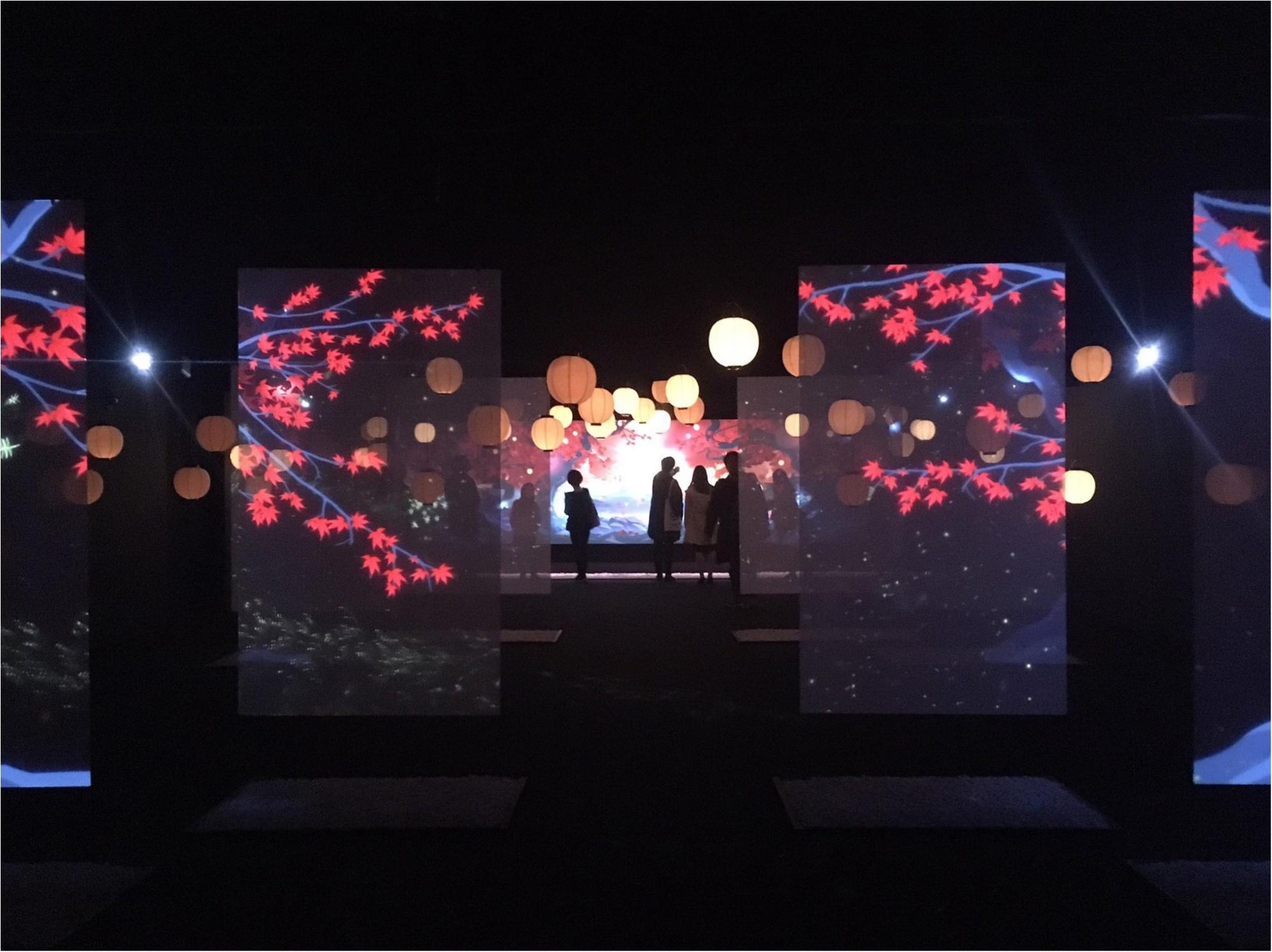 最新デジタルアートが織りなす『和食』の世界にうっとり…♡『食神さまの不思議なレストラン』に行ってきました!_4