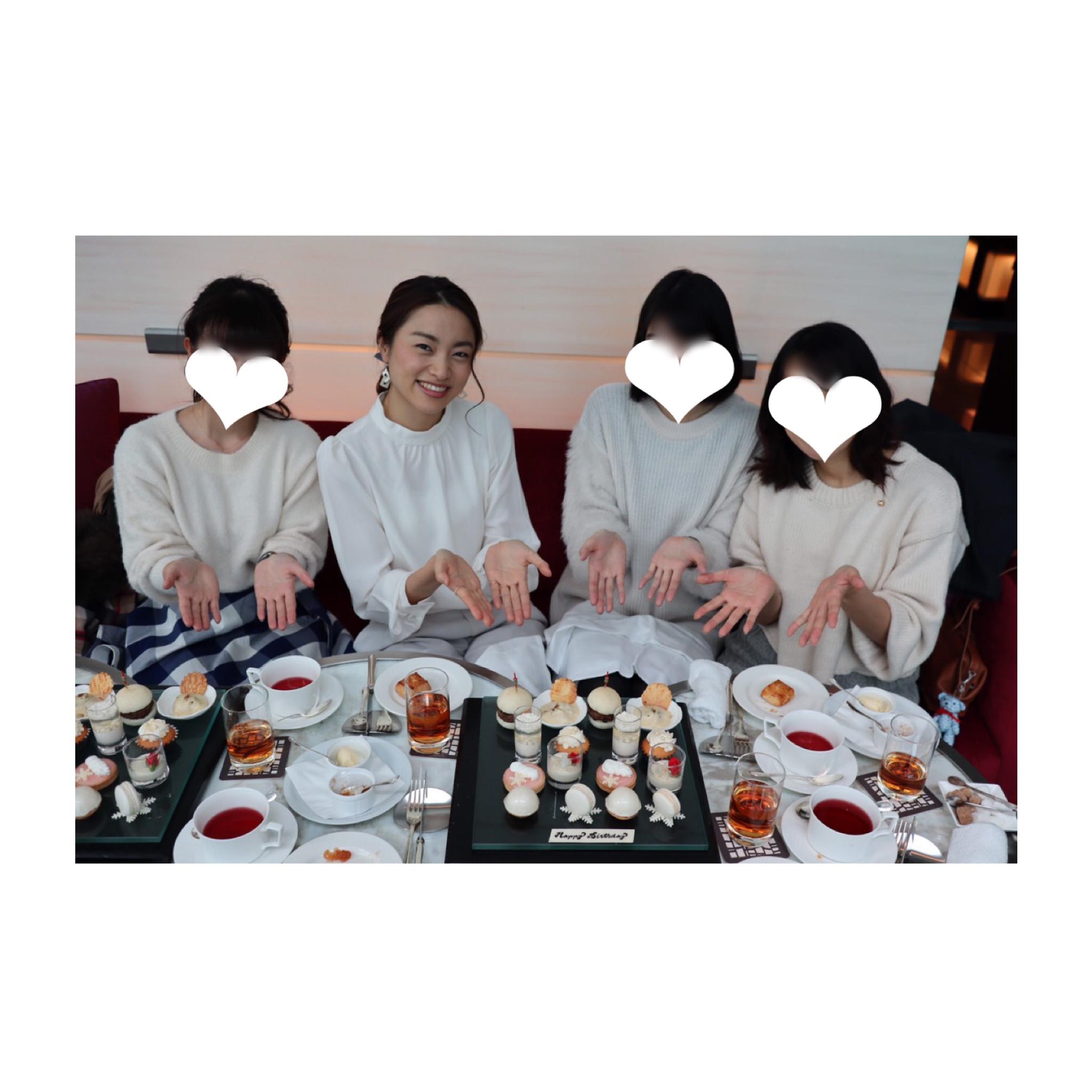 《パールをイメージした真っ白なアフタヌーンティー❤️》写真映え◎【コンラッド東京】のアフタヌーンティーに行ってきました☻_6