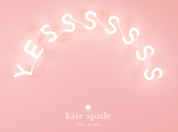 9/22(土)限定! 頑張ったあなたに『ケイト・スペード ニューヨーク』がごほうび♡