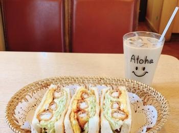 【みおしー遠征ログ❤︎名古屋】モーニングはコンパルのエビフライサンドで決まり!