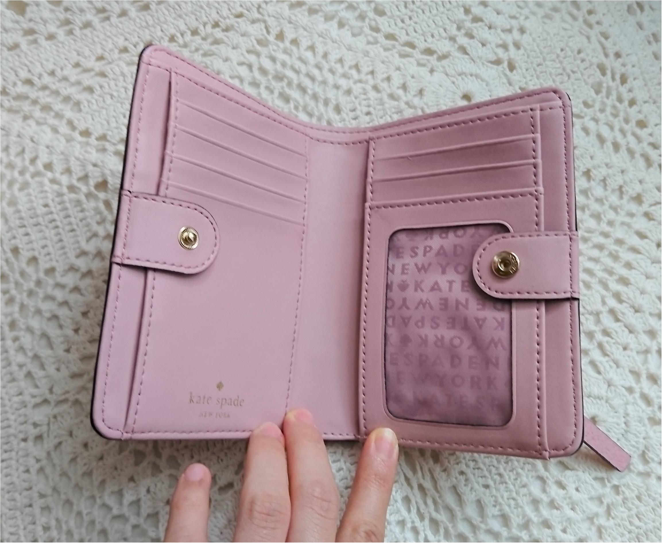 【kate spadeのスマート財布】小さいバッグの時の中身!_2